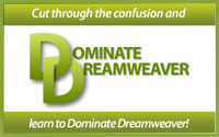 Dominate Dreamweaver Training